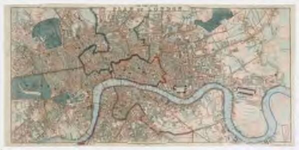 Post office plan of London