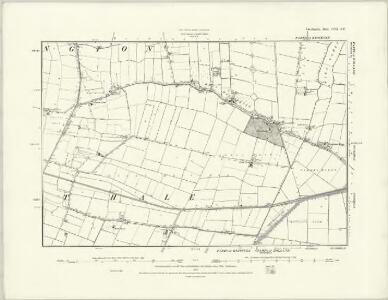 Lincolnshire CVII.SW - OS Six-Inch Map