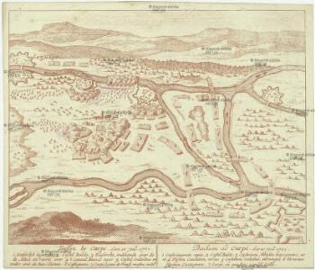 Treffen by Carpi, den 10. Jul. 1701