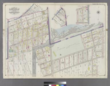Part of Wards 22 & 29. Land Map Section, No. 16. Volume 2, Brooklyn Borough, New York City.