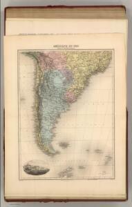 Amerique du Sud (Partie Medionale).