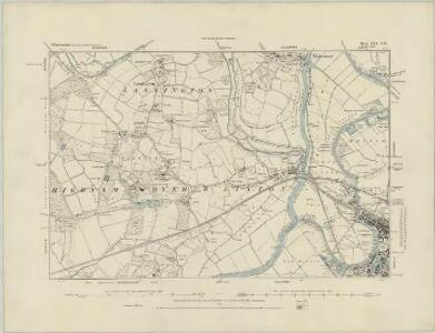 Gloucestershire XXIV.SE - OS Six-Inch Map
