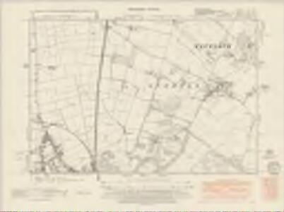 Bedfordshire XIII.SW - OS Six-Inch Map
