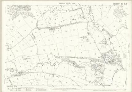 Herefordshire V.15 (includes: Disgoed; Norton; Presteign; Stapleton; Willey) - 25 Inch Map
