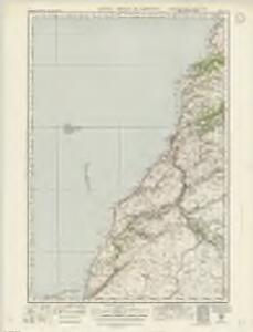 Ailsa Craig  & Girvan (82) - OS One-Inch map