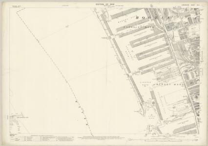 Lancashire CVI.1 (includes: Bootle Cum Linacre; Liverpool; Wallasey) - 25 Inch Map