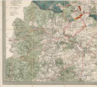 Přehledná mapa panství Planá