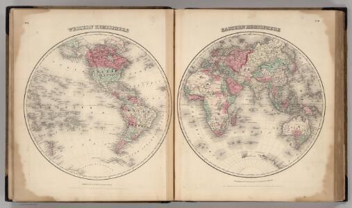 Western Hemisphere, Eastern Hemisphere.