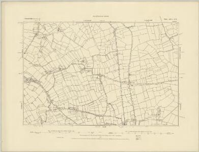 Somerset XXV.SW - OS Six-Inch Map