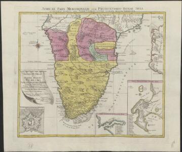 Africae pars meridionalis cum Promontorio Bonae Spei
