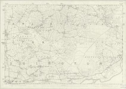 Lancashire CIX - OS Six-Inch Map