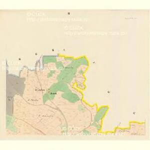 Kassegowitz (Kassegowic) - c3065-1-002 - Kaiserpflichtexemplar der Landkarten des stabilen Katasters