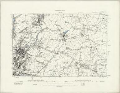 Carmarthenshire LVIII.NW - OS Six-Inch Map