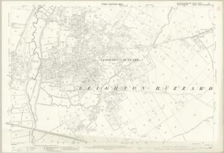 Buckinghamshire XXIV.4 (includes: Leighton Buzzard) - 25 Inch Map