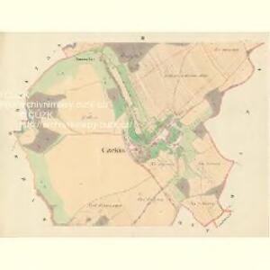 Czekin - m0362-1-002 - Kaiserpflichtexemplar der Landkarten des stabilen Katasters