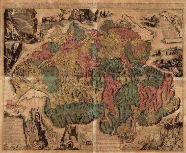 Nova Helvetiae Tabula Geographica