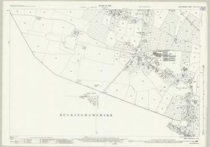 Bedfordshire XXXI.8 & 12 (includes: Eaton Bray; Edlesborough; Ivinghoe; Totternhoe) - 25 Inch Map
