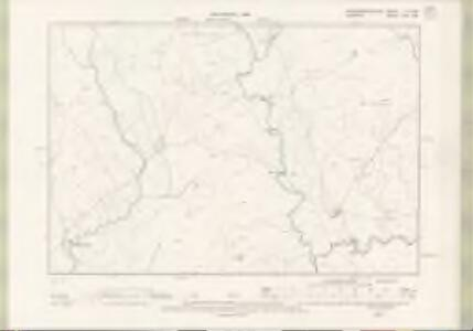 Kirkcudbrightshire Sheet X.SW - OS 6 Inch map