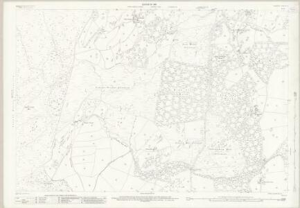 Lancashire VIII.16 (includes: Cartmel Fell; Staveley; Upper Allithwaite) - 25 Inch Map