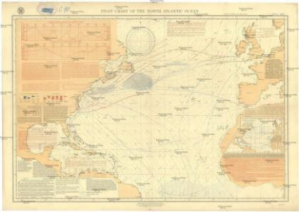 Pilot chart of the North Atlantic Ocean
