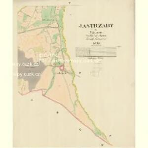 Jastrzaby - m1078-1-004 - Kaiserpflichtexemplar der Landkarten des stabilen Katasters
