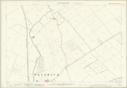 Cambridgeshire XXXIV.13 (includes: Cottenham; Histon; Long Stanton St Michael; Oakington; Rampton; Westwick) - 25 Inch Map