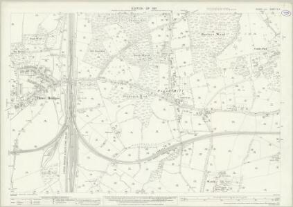 Sussex IV.9 (includes: Worth) - 25 Inch Map