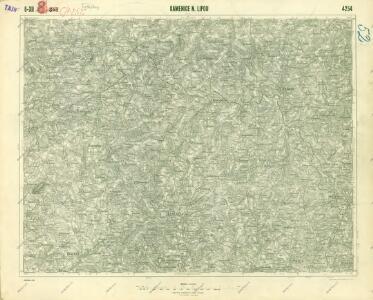 III. vojenské mapování 4254