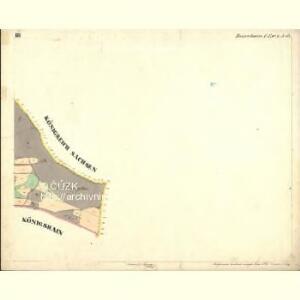 Rosenhain - c6598-1-005 - Kaiserpflichtexemplar der Landkarten des stabilen Katasters