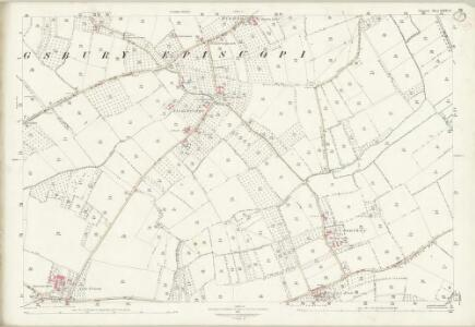 Somerset LXXXI.8 (includes: Kingsbury Episcopi; South Petherton) - 25 Inch Map
