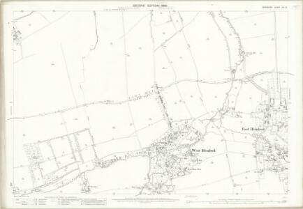 Berkshire XIV.12 (includes: Ardington; East Hendred; West Hendred) - 25 Inch Map