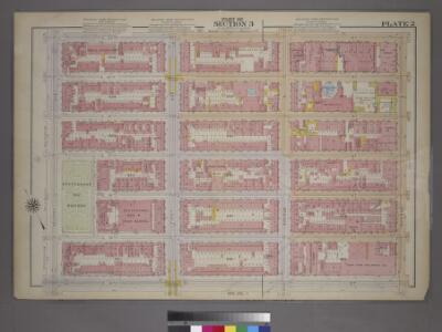 Plate 2, Part of Section 3: [Bounded by E. 20th Street, Avenue B, E. 14th Street and Second Avenue.]