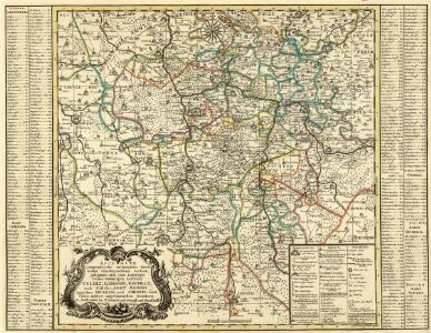 Accurate Geographische Delineation derer indem Churfürstenthum Sachsen