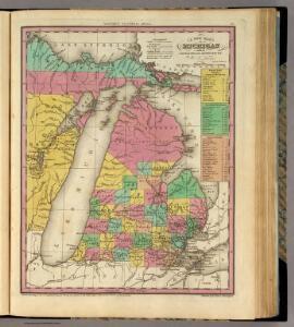 New Map Of Michigan.