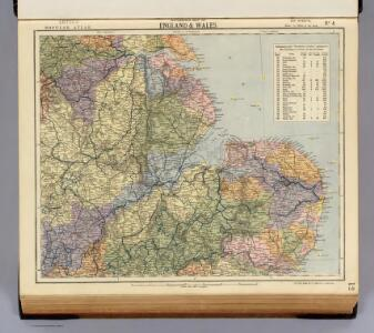 Watershed map England, Wales 4.