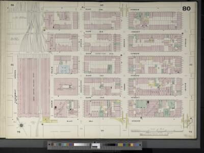 Manhattan, V. 4, Double Page Plate No. 80  [Map bounded by E. 47th St., 2nd Ave., E. 42nd St., Vanderbilt Ave.]