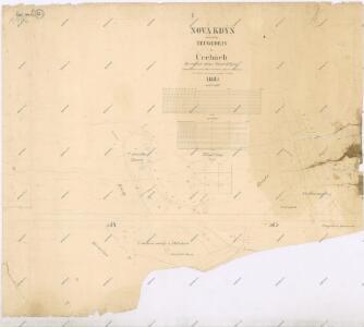 Katastrální mapa města Kdyně WC-XI-26 ci, af, bf
