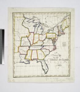Map of the United States / Euphemia Fenno.