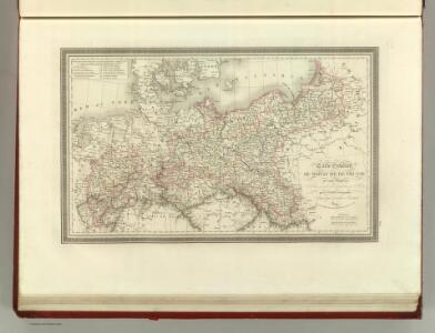 Carte Generale du Royaume de Prusse.