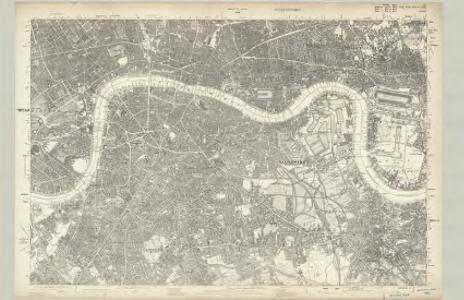 Surrey III - OS Six-Inch Map