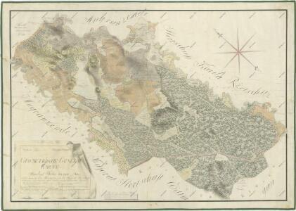 Přehledná mapa pozemků statku Hamr-Val a lesů koleneckého polesí 1