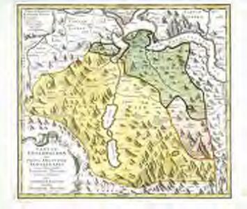 Canton Unterwalden sive pagus Helvetiae Subsylvanus cum adjacentibus terrarum tractibus