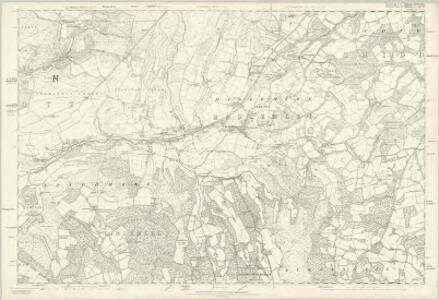 Surrey XLIV & XLV Parts - OS Six-Inch Map