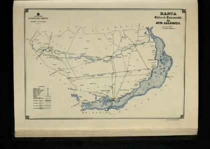Harta Cailor de Comunicatie din Jud. Ialomita