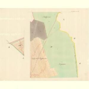 Unter Bojanowitz - m0481-1-004 - Kaiserpflichtexemplar der Landkarten des stabilen Katasters