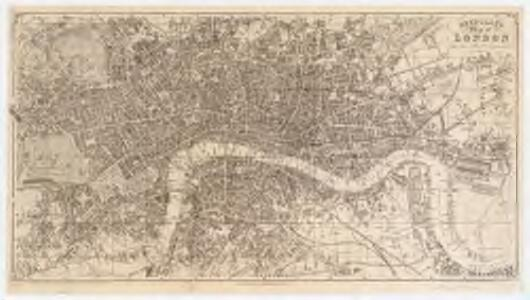 Reynolds's map of London : with the latest improvements