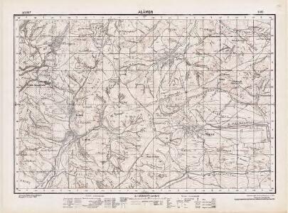 Lambert-Cholesky sheet 3160 (Alămor)