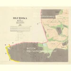 Hluboka - c1893-1-005 - Kaiserpflichtexemplar der Landkarten des stabilen Katasters