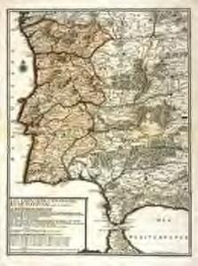 Les frontieres d'Espagne et de Portugal