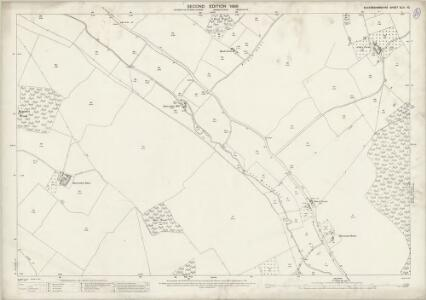 Buckinghamshire XLIII.10 (includes: Amersham; Chalfont St Giles; Chalfont St Peter) - 25 Inch Map